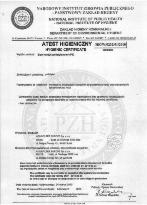 dello bezbutlowe dystrybutory wody atesty i certyfikaty 1 500x700