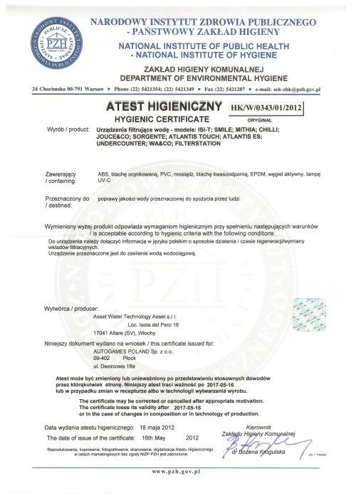 dello bezbutlowe dystrybutory wody atesty i certyfikaty 16 500x700